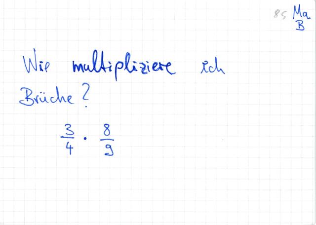 Brüche Multiplizieren Arbeitsblatt : Brüche multiplizieren ǀ lernwerk tv