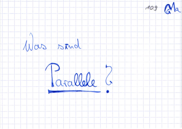 Definition:Parallele