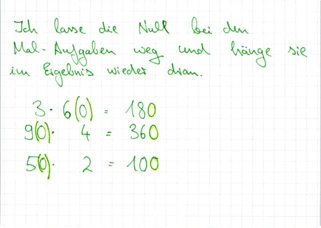 Zahlen mit 10er-Vielfachen multiplizieren ǀ Lernwerk TV
