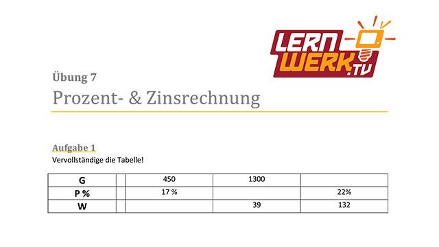 Schön Mathe Arbeitsblatt Prozent Ideen - Mathematik & Geometrie ...