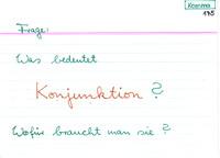 konjunktionen deutsch beispiele