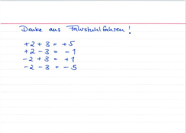 positive und negative Zahlen addieren und subtrahieren ǀ ...